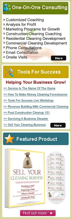Cleaning business consulting group personalized janitorial cleaning business consulting group cbcg is leading the way in providing excellent expert based training tools that help your janitorial business grow fandeluxe Images